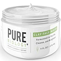 Premium Bentonite Clay Mask – Clinically Proven NaturePep Pea, Collagen, Natural...