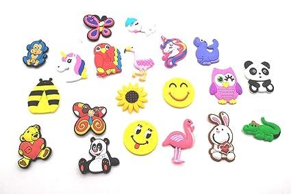 Satyam Kraft Silicone Cartoon Animal Fridge Magnets(Pack of 20) Refrigerator Magnets Kids Gifts Home Decoration