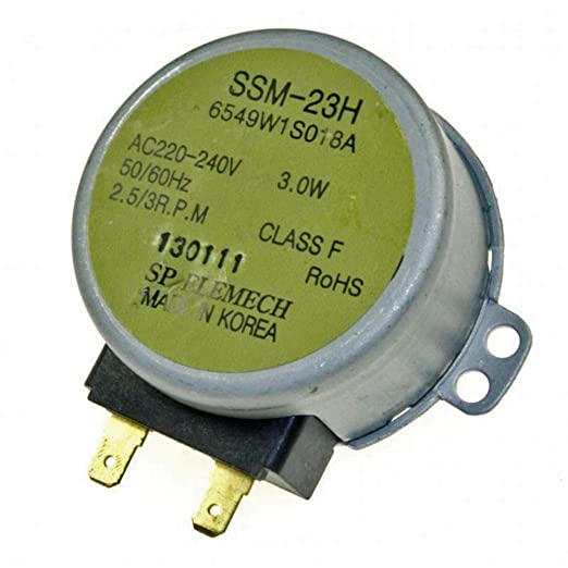 LGelectronics 6549W1S018A SSM-23H Motor Giratorio microondas ...