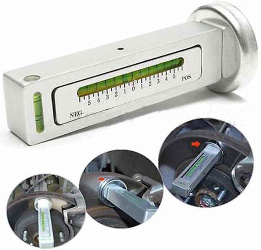 PRENKIN 12.7x5CM DIY Magnetic Automobile Car Camber Castor Strut Time Saving Wheel Alignment Gauge Tool Kit