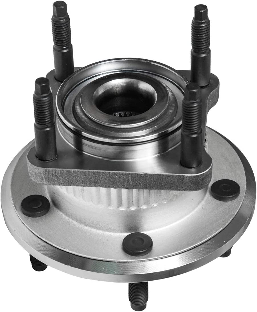 Rear Wheel Hub and Bearing Assembly Compatible With 2006-2010 Jeep Commander 2005 06 07 08 09 2010 Grand Cherokee AUQDD 512302 x2 5 Lug Hub Pair