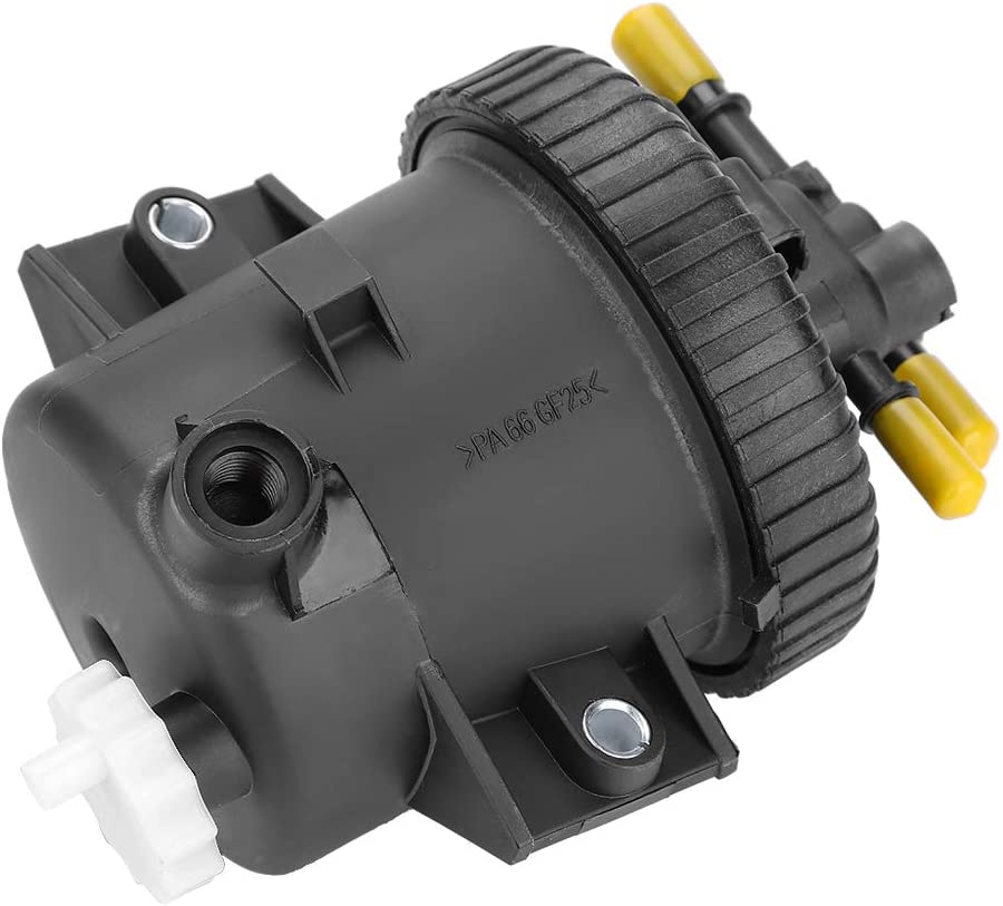 4.1in Fuel Filter Housing Black Plastic Fuel Filter 10.5cm Larger 8.5cm // 3.3in Small