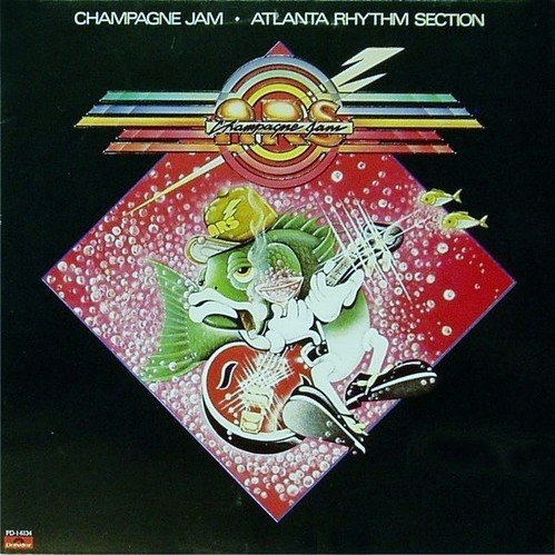 Atlanta Rhythm Section: Champagne Jam (Initial Release With Embossed Cover And 'ARS Order Form' Insert) [Vinyl LP] [Stereo] by Polydor