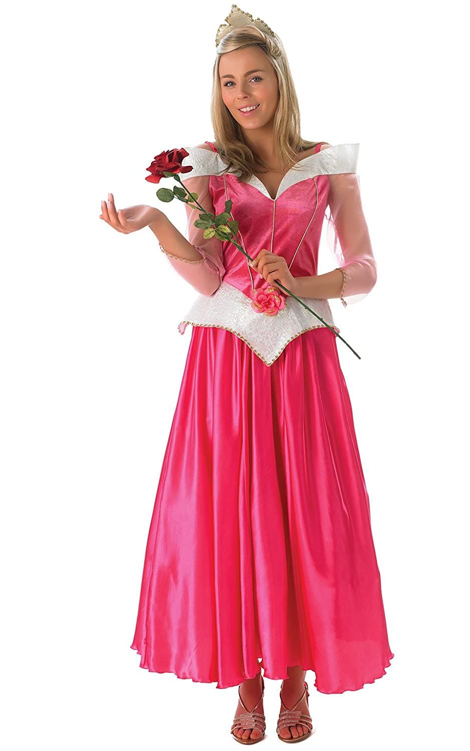 Womens Sleeping Beauty Fancy Dress Costume Disney Princess Ladies Party outfit Amazon.co.uk Toys u0026 Games  sc 1 st  Amazon UK : costume disney princess  - Germanpascual.Com