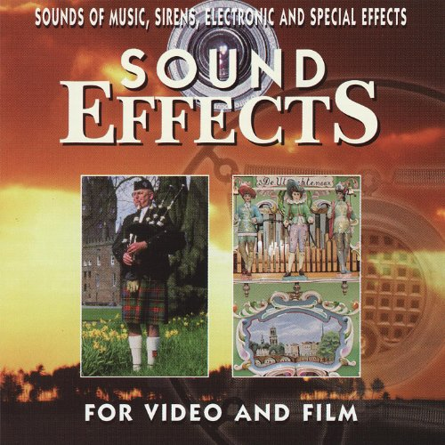 Sounds of Music, Sirens, Electronic and Special (Digital Sound Effects Cd)