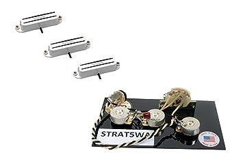 amazon com duncan cool, vintage, hot rails guitar pickup set, white  vintage rails wiring diagram #43