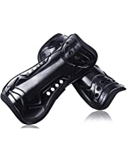 jiele Youth Kids Soccer Shin Pads, Lightweight & Breathable Child Calf Protective Gear Soccer Equipment for 6-12 Years Old Kids, Teenagers, Boys, Girls