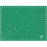 """Professional Self-Healing Double Sided Rotary Cutting Mat, Long Lasting Thick Non-Slip Mat 18"""" x 24"""" for Quilting, Sewing and All Arts & Crafts Projects"""