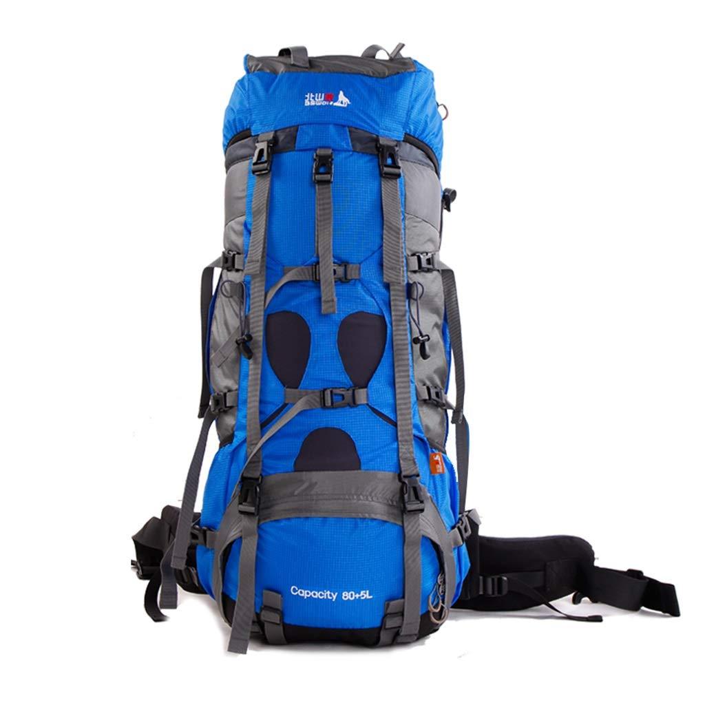 アウトドアバックパック、多機能バックパック、トラベルバックパック、アウトドアスポーツバックパック、超軽量アウトドアスポーツバックパック、防水ビジネスバックパック  ダークネイビー B07MHBHYDR