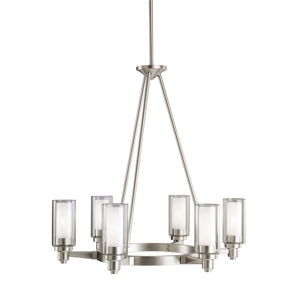 Kichler 2344ni six light chandelier amazon aloadofball Choice Image