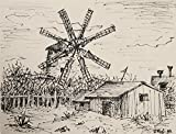 Farmhouse with Windmill 242