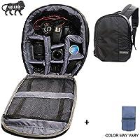 Brain Freezer J Universal DSLR SLR Camera Lens Shoulder Backpack Case for Canon Nikon Sigma Olympus Camera Grey