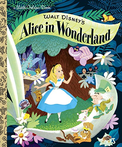 Walt Disney's Alice in Wonderland (Little Golden Books) -