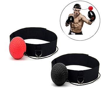 Mengger Pelota de Boxeo Reflejo Ball Fight Boxing Bola con Diadema ...