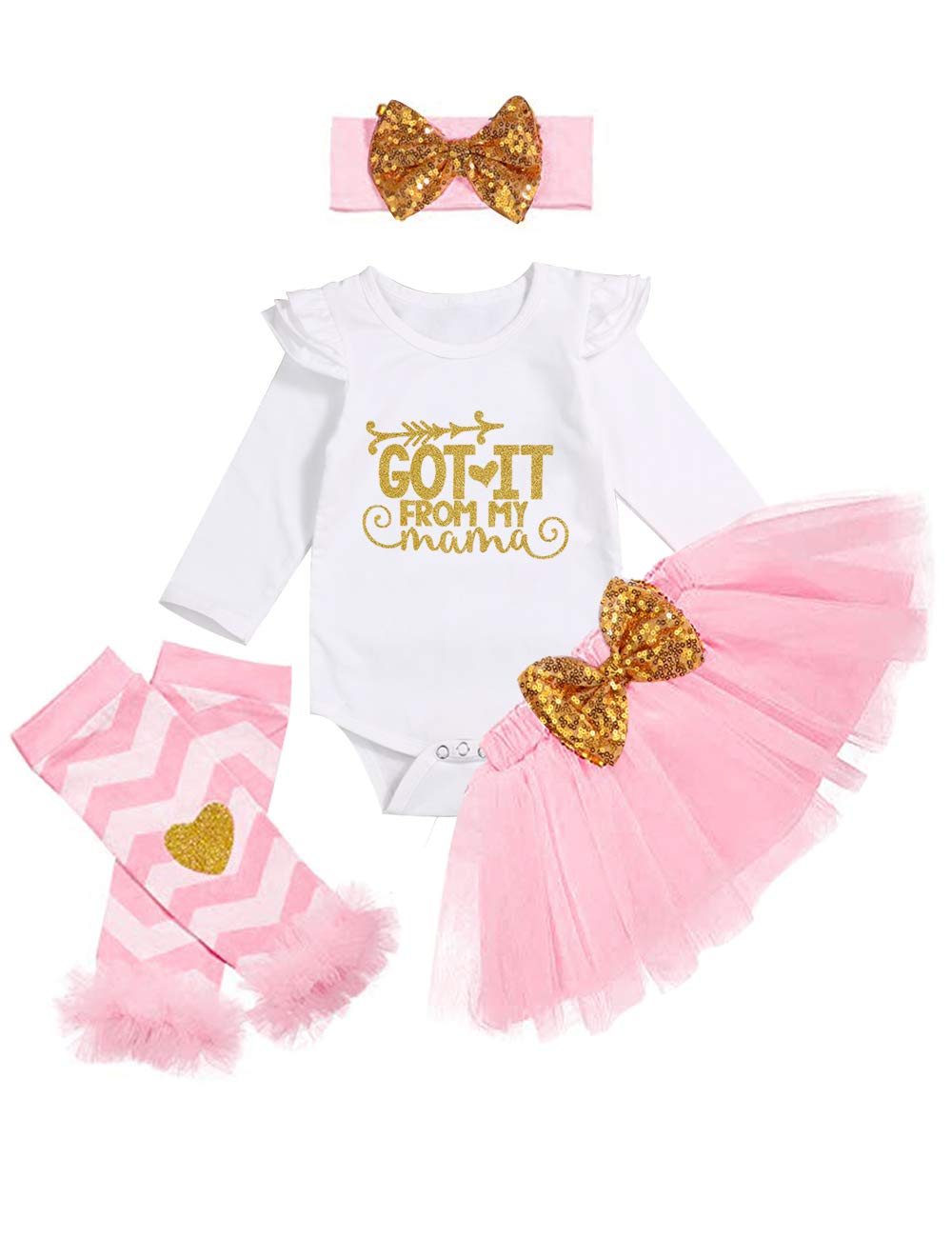 Emmababy Girls Halloween 3PCs Outfits Set Kids Shirt Tutu Skirt Dress Clothes