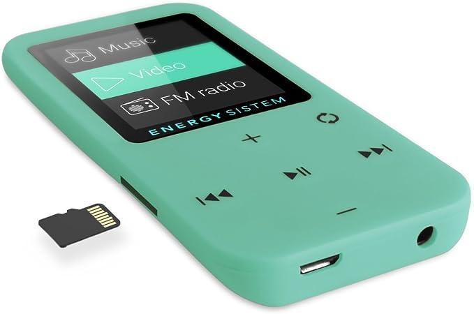 Energy Sistem Mp4 Touch Mintgrün Elektronik
