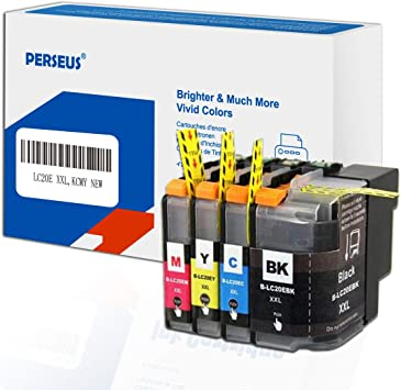 High Yield See 2nd Bullet Point for Compatible Machines InkSurf Compatible Ink Cartridge Replacement for Brother LC203Y Yellow