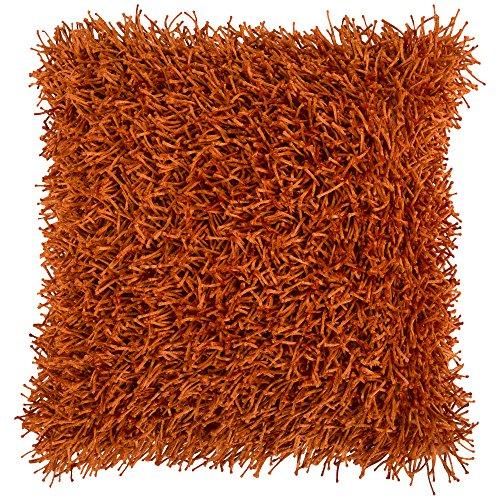 Surya FA-059 Hand Crafted 100% Polyester Burnt Orange 18
