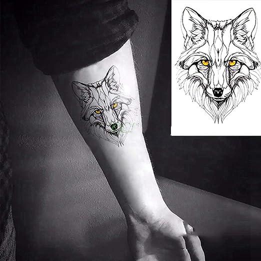 adgkitb Etiqueta engomada Temporal del Tatuaje del triángulo de ...