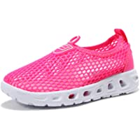 ShuangChuang Kids Aqua Shoes Boys Girls Breathable Lightweight Sneakers Slip-On Quick Dry Water Shoes (Toddler/Little Kid/Big Kid)