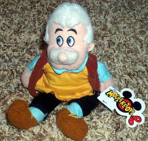 (Retired Disney Pinocchio Master Craftsman and Carpenter Father Geppetto 8