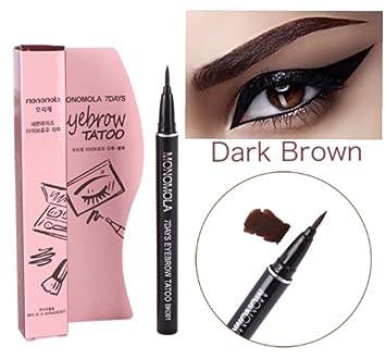 Amazon.com : Long Lasting Waterproof Eyebrow Tattoo Pen Pencil Liner ...
