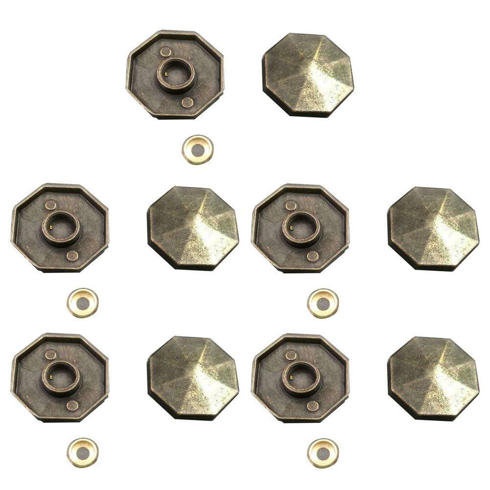 Welldoit 10 Pcs Mirror Screws Nails Caps Advertising Screws Cover Furniture Fittings
