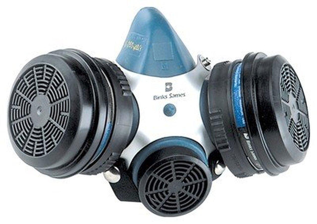 BINKS Millennium 3000 Respirator MEDIUM 40-128 900253 by Binks