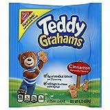 Teddy Grahams Snacks, Cinnamon, 0.75-Ounce Bags (Pack of 150)