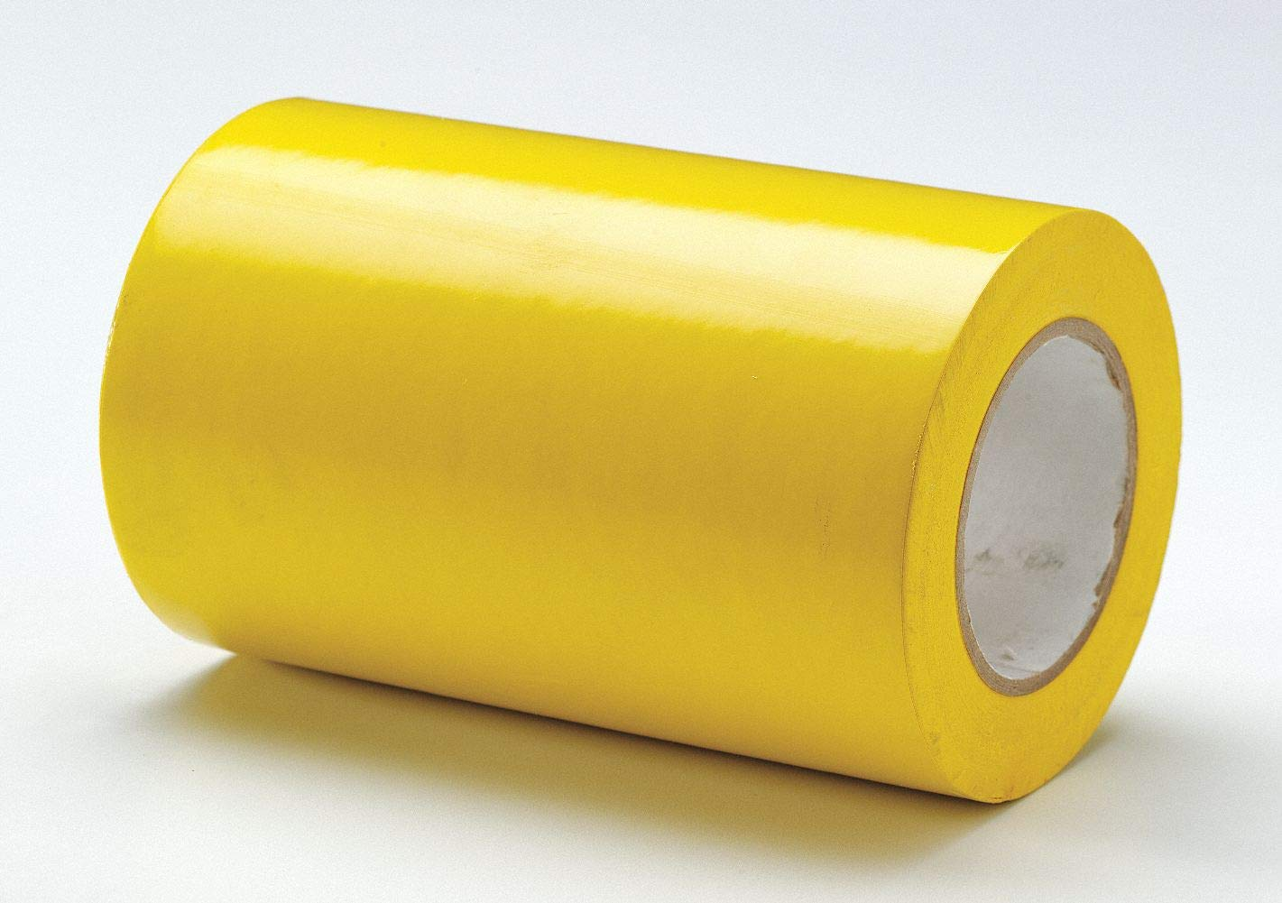 Safety Warning Tape, Solid, Continuous Roll, 8'' Width, 1 EA