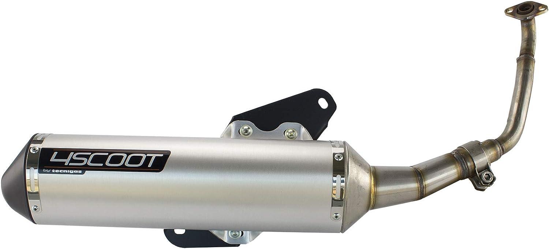 KYMCO Like 125 Scheibenbremse 063950811 Tecnigas 4SCOOT Auspuff zugelassen