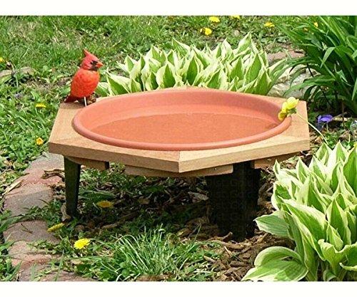 2 PACK Classic 17 Garden Bird Bath