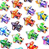Party Favor Toys for Boys 32 Pack Pull Back Airplanes Classroom Prizes Preschool Toys Aircraft Mini Treasure Chest Toy Kids Plane Birthday Party Supplies