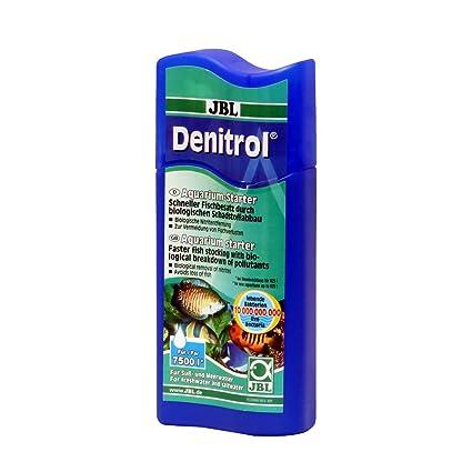 JBL Lanzador de bacterias Denitrol para acuarios de agua de mar y dulce, para una