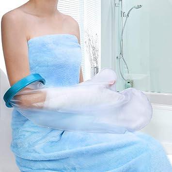 Finger Wound Handgelenk Dusche Cast Hand Cover h/ält die Hand trocken im Bad wasserdichte Verbandschutz f/ür gebrochene Hand