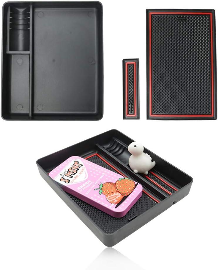 YEE PIN Tucson 2 Console centrale Bo/îte /à gants pour accoudoir avec tapis antid/érapant pour voiture
