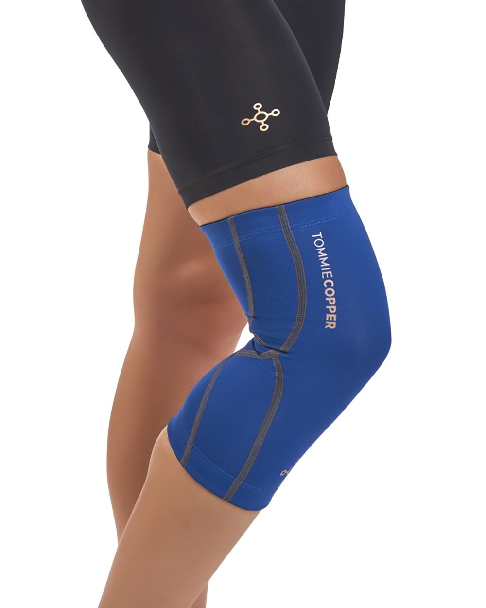 Tommie Copper Women's Performance Knee Sleeves 2.0, X-Large, Cobalt Blue