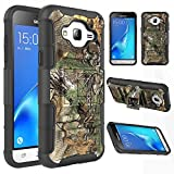 Galaxy J3 Case, Galaxy Sky/J3 V/Sol/Amp Prime/Express Prime Case,EC™ Hybrid Dual Layers Armor Holster Case with Kickstand + Locking Belt Swivel Clip for Samsung Galaxy J3 2016 (Camouflage)