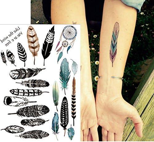 Muelle Tatuajes Multicolor y Negro Agua Colores Flash Tatuajes ...