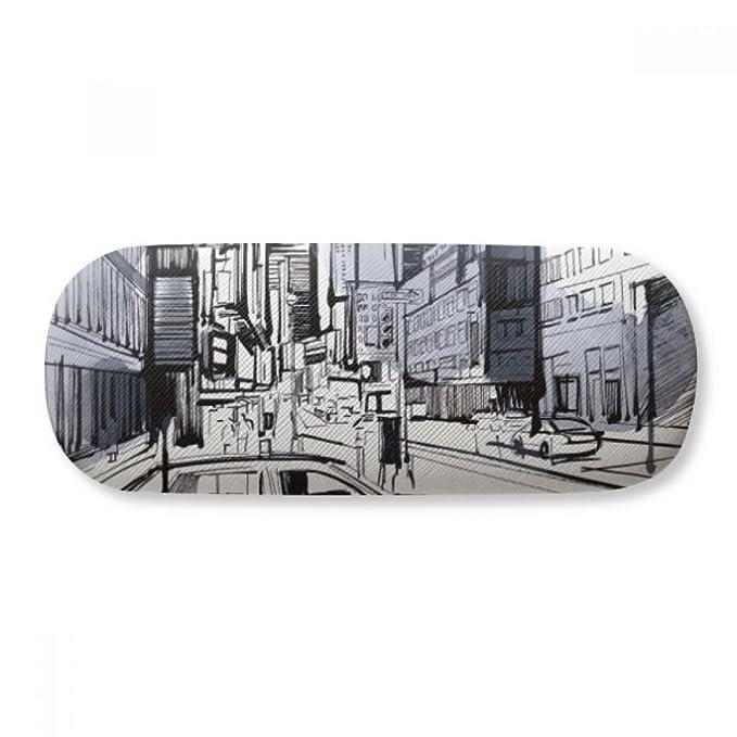 NYC Love New York City America Landscape Glasses Case Eyeglasses