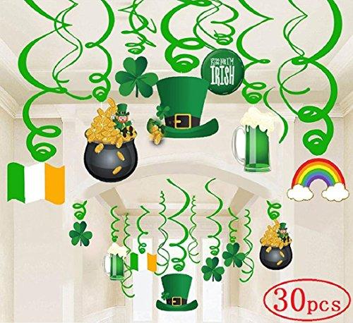 with Green Beer Novelties design