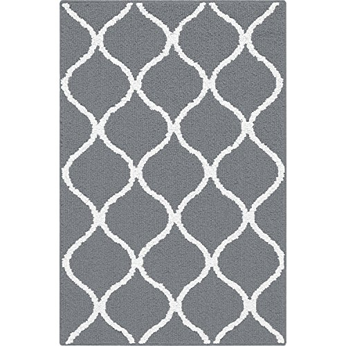 Kitchen Rugs, Maples Rugs  2'6 x 3'10 Non Slip Padded Small