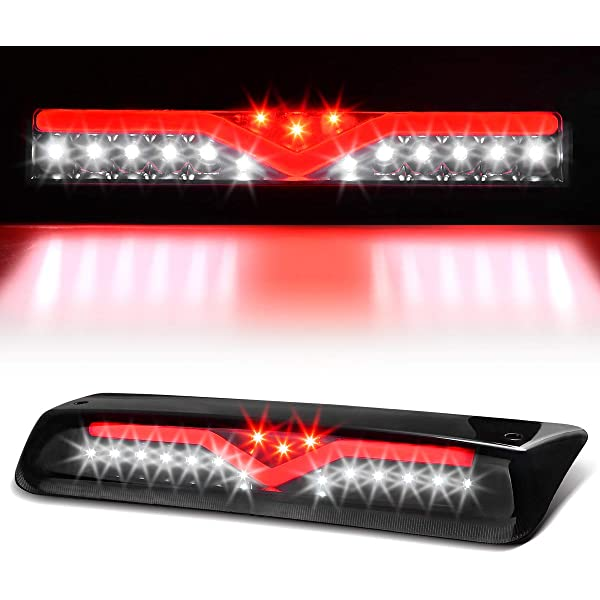 3rd Brake Light for Ford F150 AAIWA High Mount Stop Lights Smoked LED Reverse Light Replacement for 2004-2008 Ford F-150