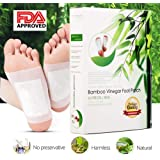 Foot Patches |Detox Foot Pads Detoxify Toxins |Detox Foot Pads|All Natural & Premium Ingredients for Best Relief & Results Apply Sleep(10 Pack)Buy 2 GET More Off (10 Pack)