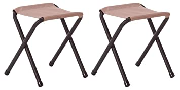 Stupendous Amazon Com Coleman Rambler Ii Stool Pack Of 2 Home Improvement Ocoug Best Dining Table And Chair Ideas Images Ocougorg