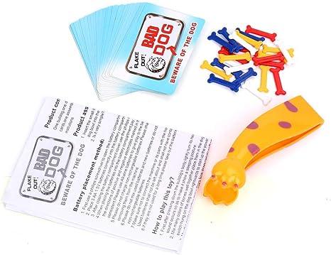 Accesorios Juegos de Perro – Juego de Mesa para niños – Incluye 24 Huesos, 24 Tarjetas, 1 cortaúñas para pies de Gato: Amazon.es: Juguetes y juegos