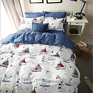 61Ko5HN1itL._SS300_ Nautical Bedding Sets & Nautical Bedspreads
