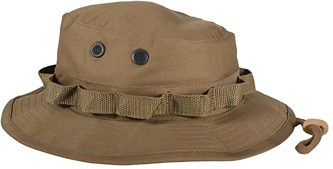 7486e9ed490 Image Unavailable. Image not available for. Color  Rothco Ultra Force Coyote  Brown Military Inspired Boonie Hat ...