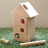 木のおもちゃ ひっつきむしの家 夢工房ももたろう 引っ付き虫 ひっつき虫