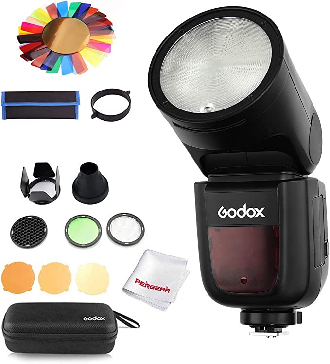 Godox V1-S with Accessories Kit for Sony
